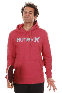 Hurley One & Only Hoodie (heather red)