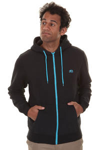 Enjoi Panda Patch Zip-Hoodie (black royal)