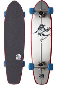 "Sector 9 Essentials Carvin 9er 8.25"" x 31.5"" Cruiser (white)"