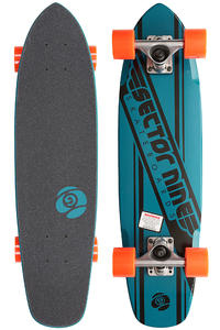 "Sector 9 Essentials 76 7.25"" x 28"" Cruiser (blue)"