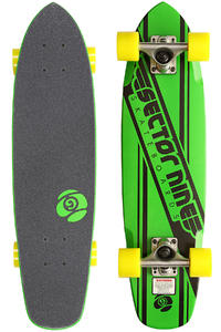 "Sector 9 Essentials 76 7.25"" x 28"" Cruiser (green)"