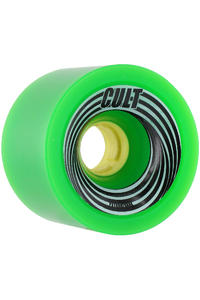 Cult The Zilla 72mm 83a Rollen 4er Pack  (green)