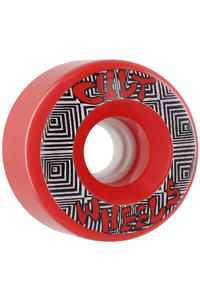 Cult Converter 70mm 85a Rollen 4er Pack  (red)
