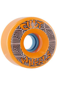 Cult Converter 70mm 85a Rollen 4er Pack  (orange)
