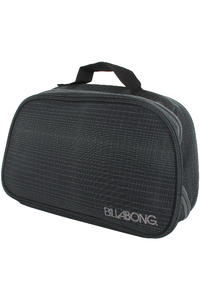 Billabong System Stashie Toilet Bag (black plaid)