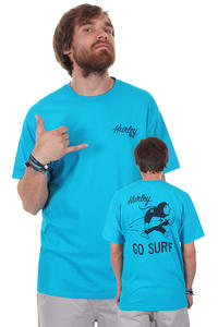 Hurley Go Surf Charlie T-Shirt (cyan)