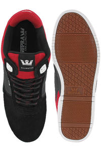 Supra Ellington Suede Schuh (black red)