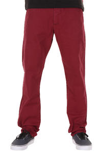 REELL Grip Tapered Pants (wine red)