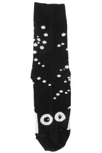 Cleptomanicx Aal Socken 3er Pack US 7-9  (black white)