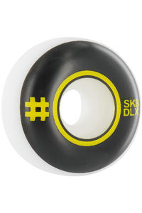 SK8DLX Nerd Is Over Series 52mm Rollen 4er Pack  (black yellow)