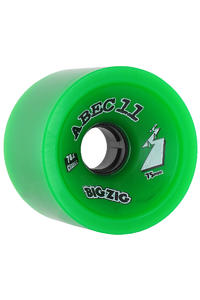ABEC 11 Big Zigs Classic 75mm 78a Rollen 4er Pack  (green)