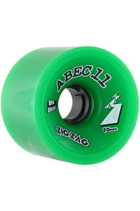 ABEC 11 Zig Zags Classic 70mm 81A Wheel 4er Pack  (green)