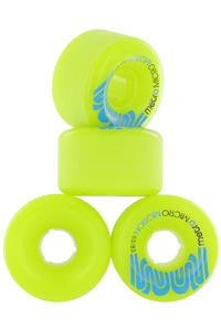 Metro Wheels Micro Motion 63mm 83a Rollen 4er Pack  (green)