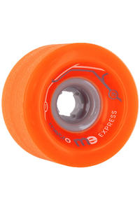 Metro Wheels Express 77mm 78a Rollen 4er Pack  (orange)
