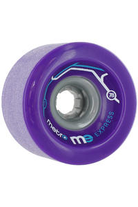 Metro Wheels Express 77mm 78a Rollen 4er Pack  (purple)