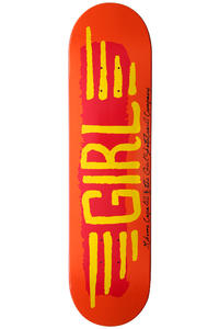 Girl Capaldi BA Wings 7.81&quot; Deck (orange)