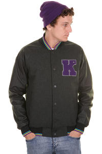 KR3W Breakdown T. Kennedy Signature Jacke (charcoal heather)