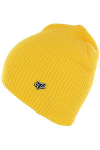 Fox Collision Beanie (day glo yellow)