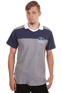 adidas Skateboarding Skate Soccer T-Shirt (core heather dark indigo)