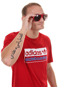 adidas Skateboarding Logo 2 T-Shirt (university red)