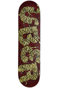 "Über Skateboards Laces II PRS 7.875"" Deck (brown)"