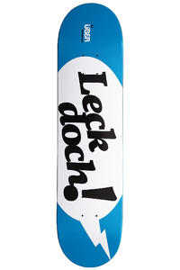 "Über Skateboards Leck Doch! 7.625"" Deck (blue white)"
