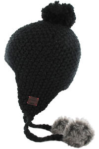 Roxy Into The Snow Beanie girls (true black)
