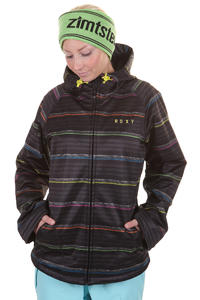 Roxy Hemisphere Snowboard Jacke girls (roxy neon stripe)