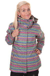 Roxy Jetty Snowboard Jacket girls (new roxy stripe)