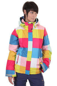 Roxy Jetty Snowboard Jacket girls (colorsquare plaid)
