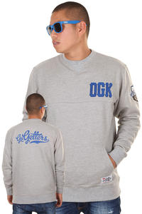 DGK Skateboards Go Getters Sweatshirt (athletic heather)