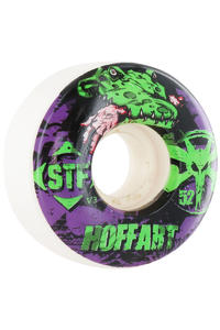 Bones STF-Hoffart-Gator 52mm Wheel 4er Pack  (white purple)