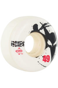 Bones STF-Thin 49mm Wheel 4er Pack  (white)
