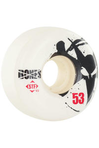 Bones STF-Thin 53mm Rollen 4er Pack  (white)