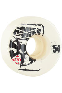 Bones STF-Slim 54mm Rollen 4er Pack  (white)