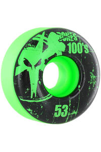 Bones 100's-OG #11 53mm Wheel 4er Pack  (green)