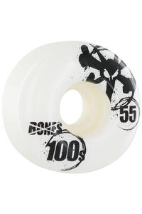 Bones 100's-OG #12 55mm Wheel 4er Pack  (white)