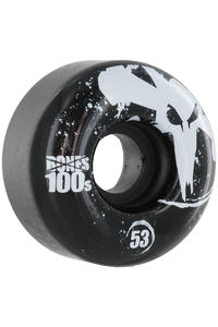 Bones 100's-OG #12 53mm Rollen 4er Pack  (black)