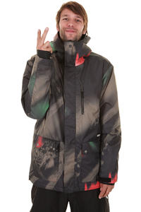 Quiksilver Drift Printed Snowboard Jacke insulated  (polisty)