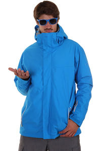 Quiksilver Next Mission Plain Snowboard Jacke (pacific)