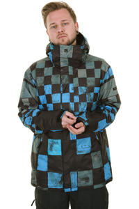 Quiksilver Next Mission Printed Snowboard Jacket insulated  (blue black smoke)