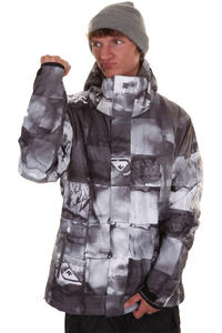 Quiksilver Next Mission Printed Snowboard Jacket insulated  (inkisition black)