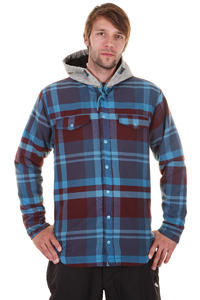 Quiksilver Dock Snowboard Jacket (check mountain blue)