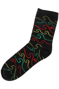Quiksilver Mamani Socks US 8-12  (black)