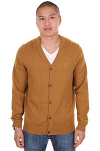 WeSC Borik Strickjacke (golden brown melange)