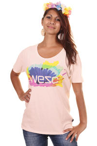 WeSC Happy Marker T-Shirt girls (ice pink)