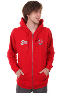 DVS Patchover Zip-Hoodie (red)