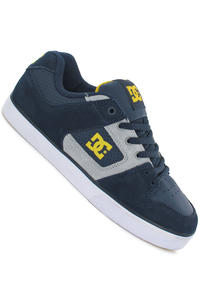 DC Pure Slim Schuh (dc navy yellow)