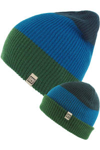 SK8DLX Blunt Beanie (green skydiver iris)