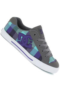 DC Chelsea Shoe girls (lt grey purple)